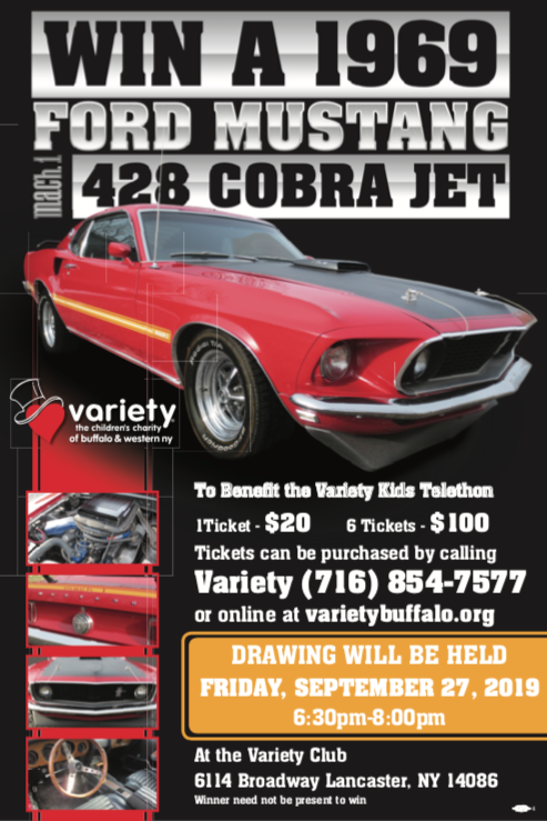 Win a 1969 Ford Mustang Mach 1 428 Cobra Jet! - Variety
