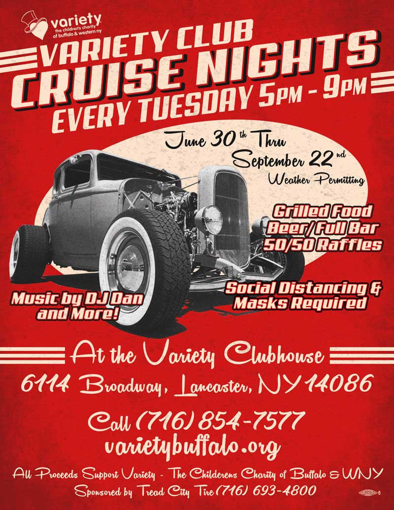 Variety Cruise Nights Are Back!