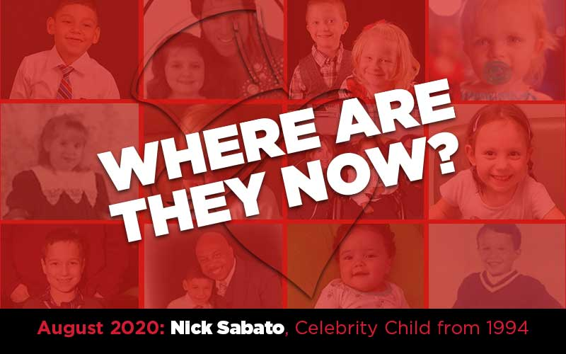 Where Are They Now? Nick Sabato