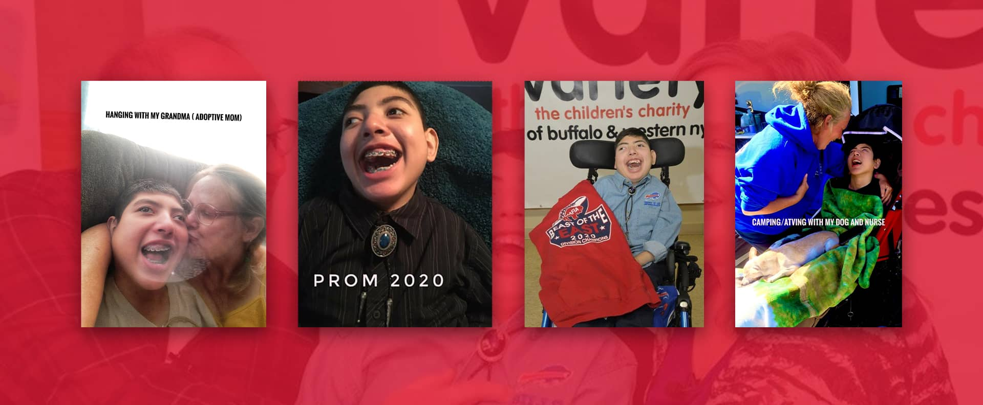 Evan's Story!  Read all about our 2021 Celebrity Child, Evan