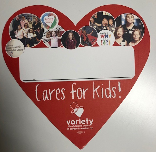 Help raise funds for Variety!