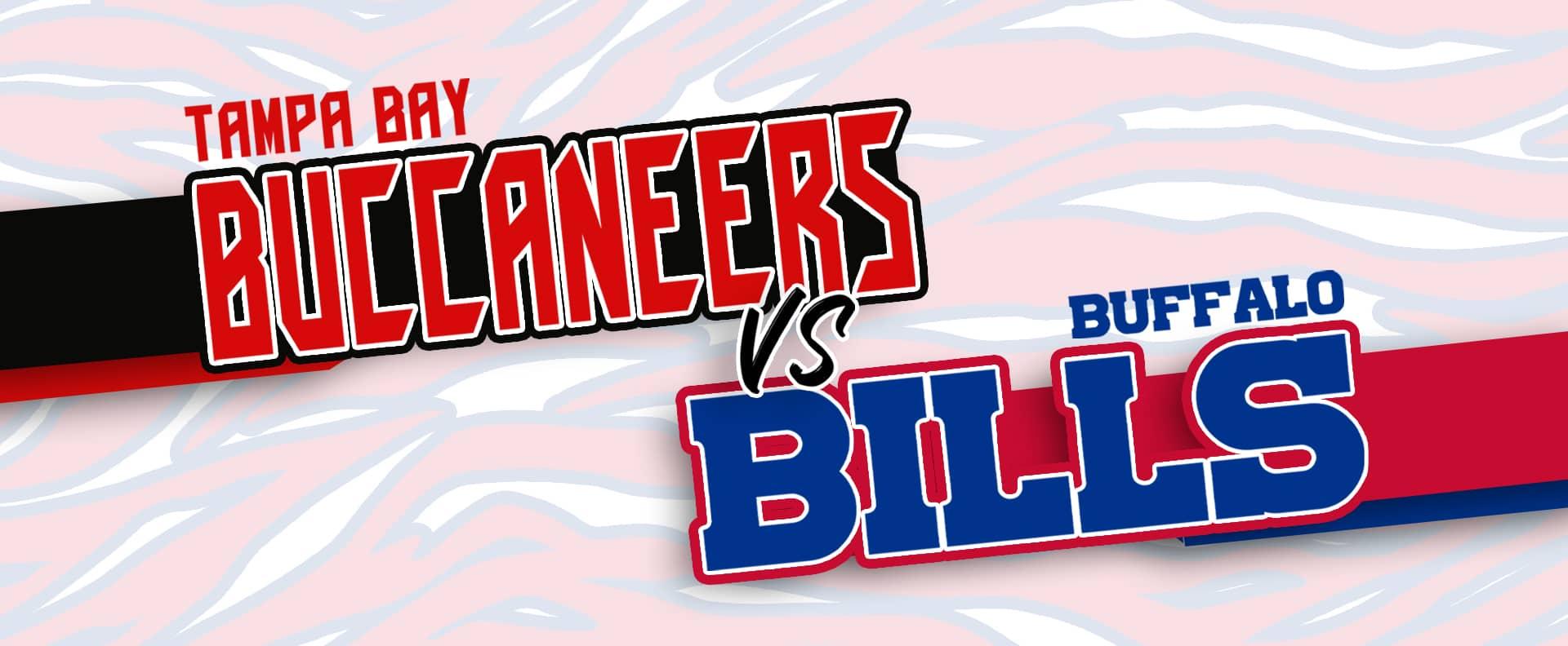 Buffalo Bills take on the Tampa Bay Buccaneers!